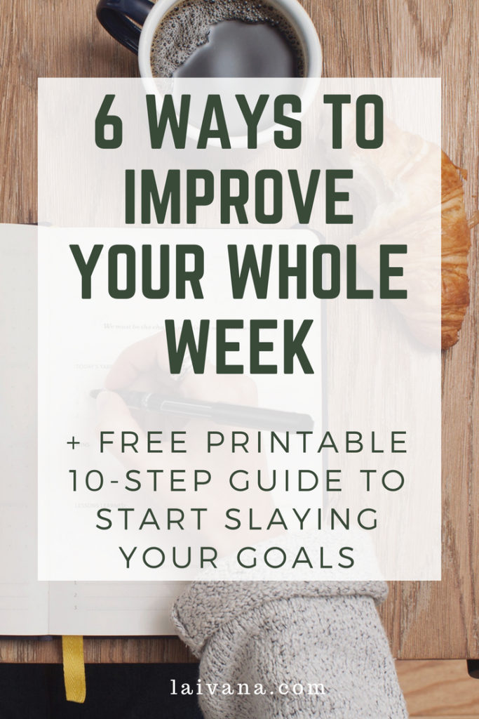 improve your week