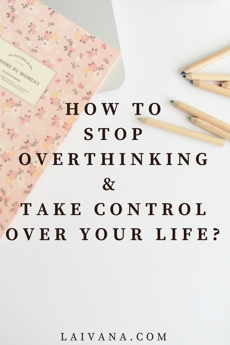 take control over your life