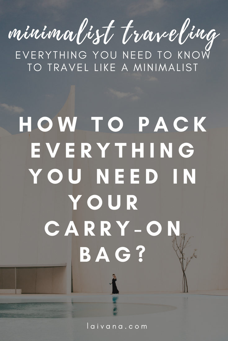 carry-on bag